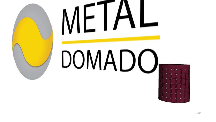Arandela Metaldomado Entrelace