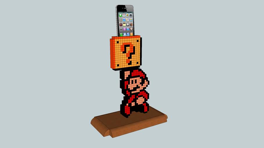 Mario IPhone Holder