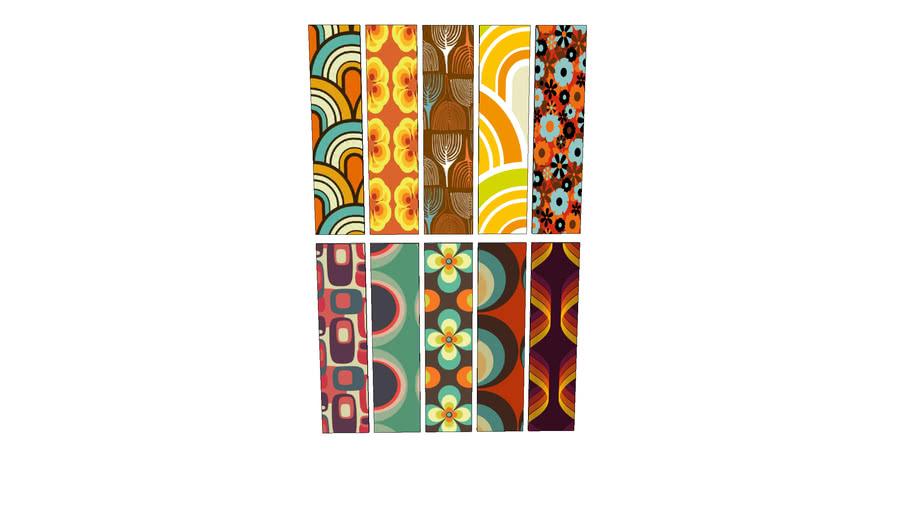 collection de papier peint ,Collection of wallpaper,Sammlung Tapete,