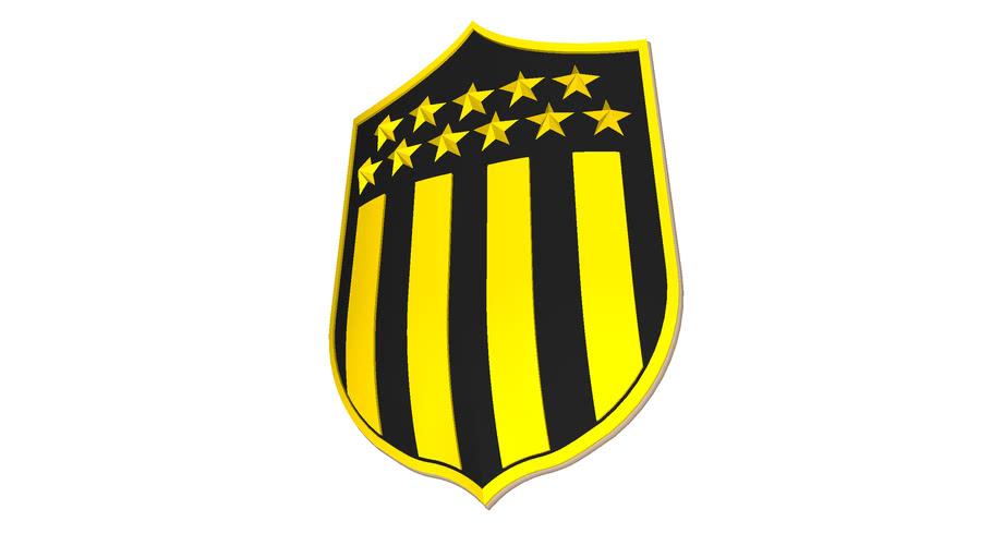 Escudo Club Atlético Peñarol - Uruguay | 3D Warehouse