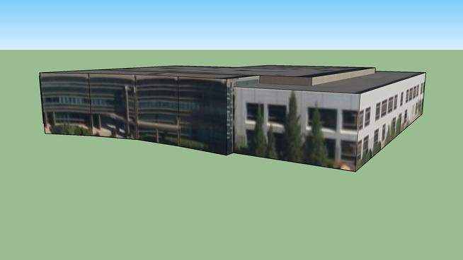 Bygning i Mather, Californien, USA