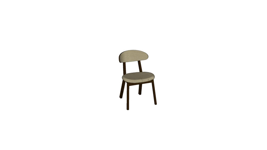 [Square Roots] Boma Chair Upholstered_Laos 006 Latte