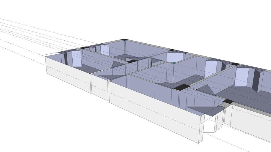 pianta 3d appartamento