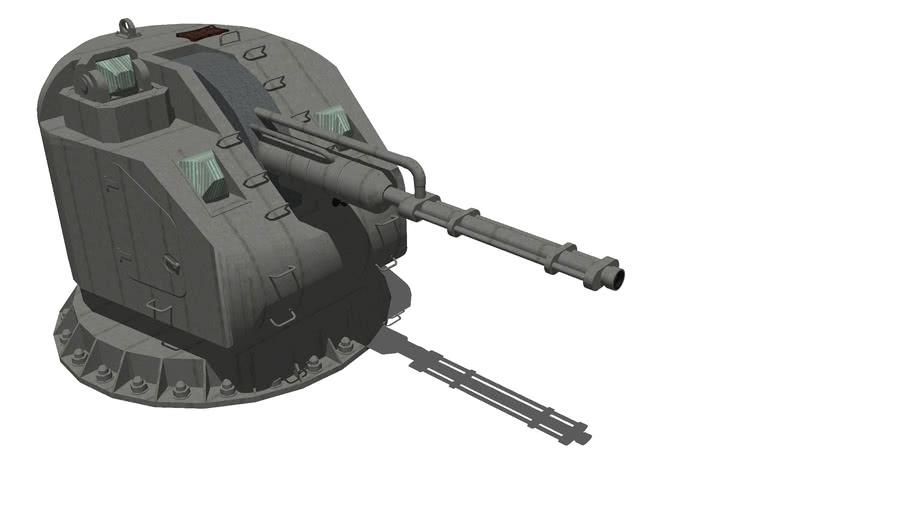 Boat automatic cannon