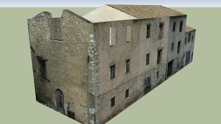 Ruins in Buda, Cascia, 06043 PG, Umbria, Italy