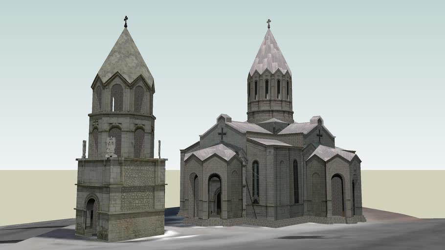 Ղազանչեցոց Եկեղեցի Ghazanchetsots Cathedral