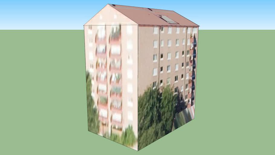 Building at Gullmarsplan, Stockholm, Sweden