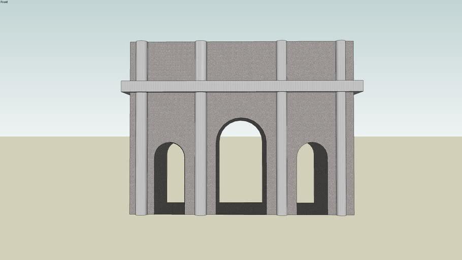 Ancient Roman Triumphal Arch
