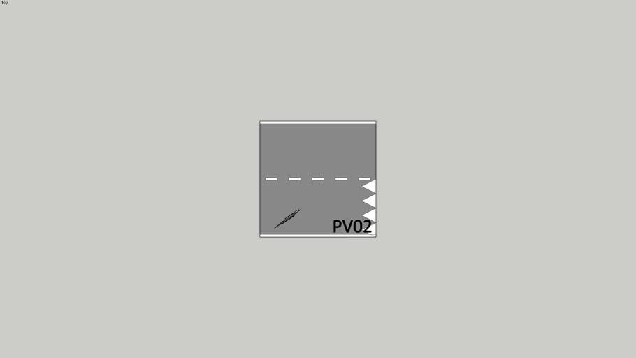 PV 02 weg met haaientanden.