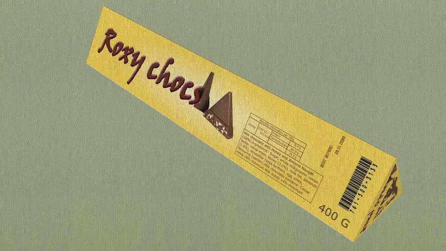 Roxy Chocs packaging