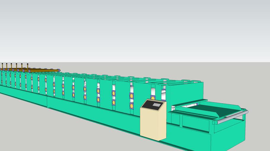 屋根成型機