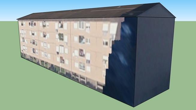 Edificio in Roma RM, Italia Viale di Torre Maura 100 palazzina 10
