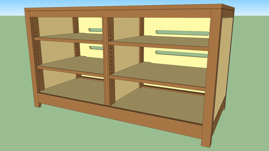 Entertainment Center from Woodsmith Shop Episode 508