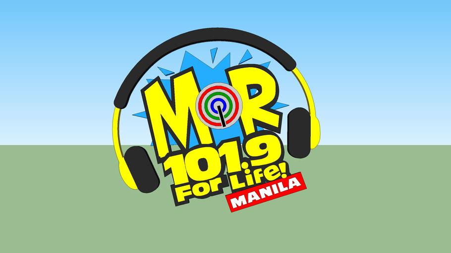 MOR 101.9 Manila For Life Logo