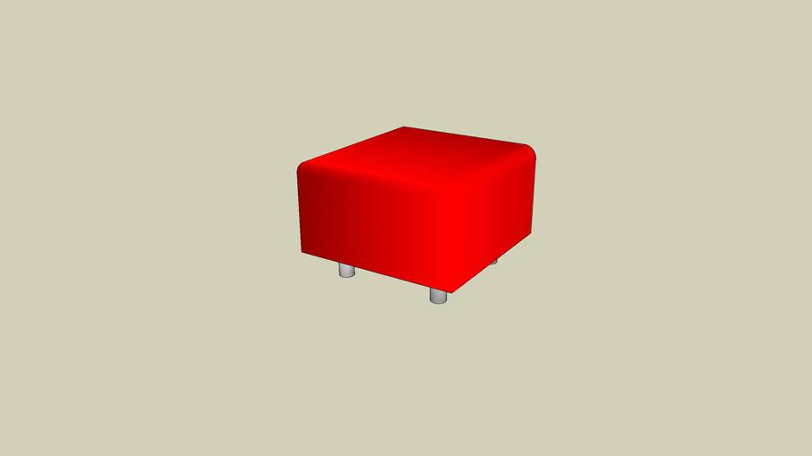 Ikea Klippan Pouf