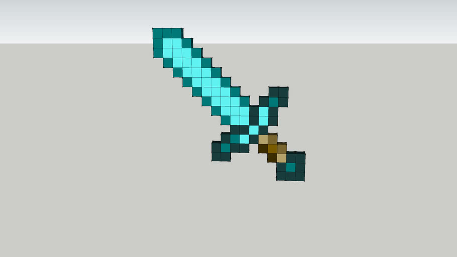 Minecraft Diamond Sword
