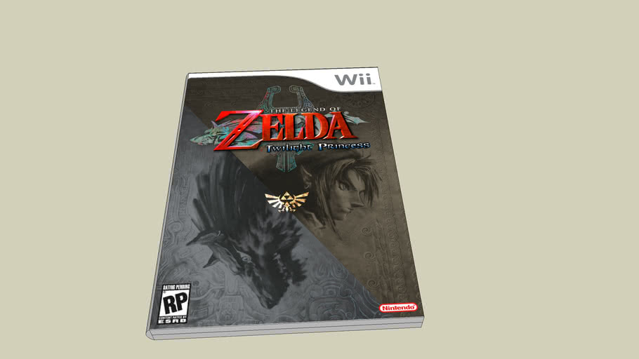 Legend Of Zelda Twilight Princess Game Case