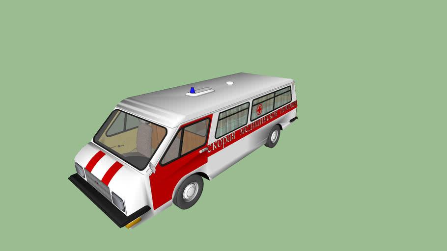 RAF 22 031 ambulance