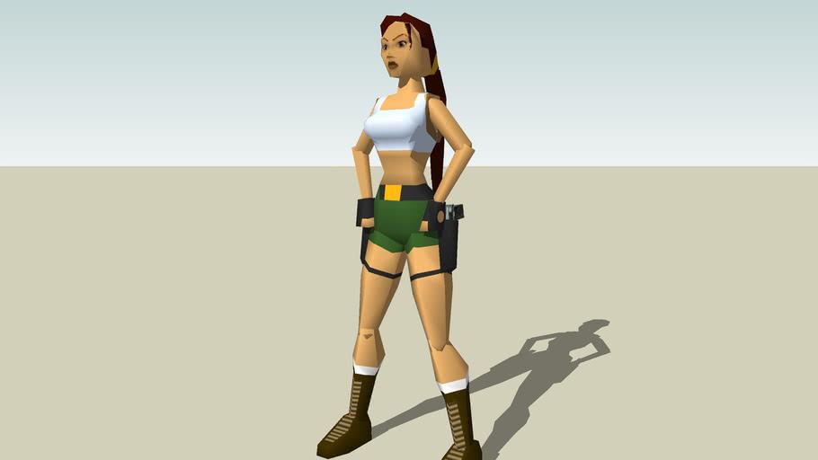 Lara Croft Tomb Raider Iii Pacific Ps1 3d Warehouse