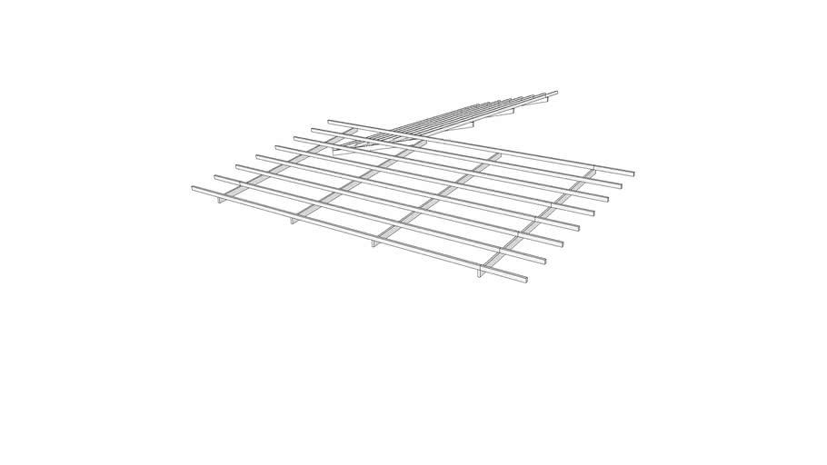 Skeletal roofing
