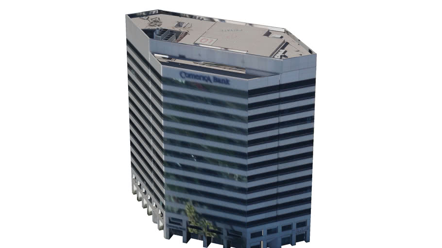 Comerce Bank Building, Huntington Beach, CA, USA