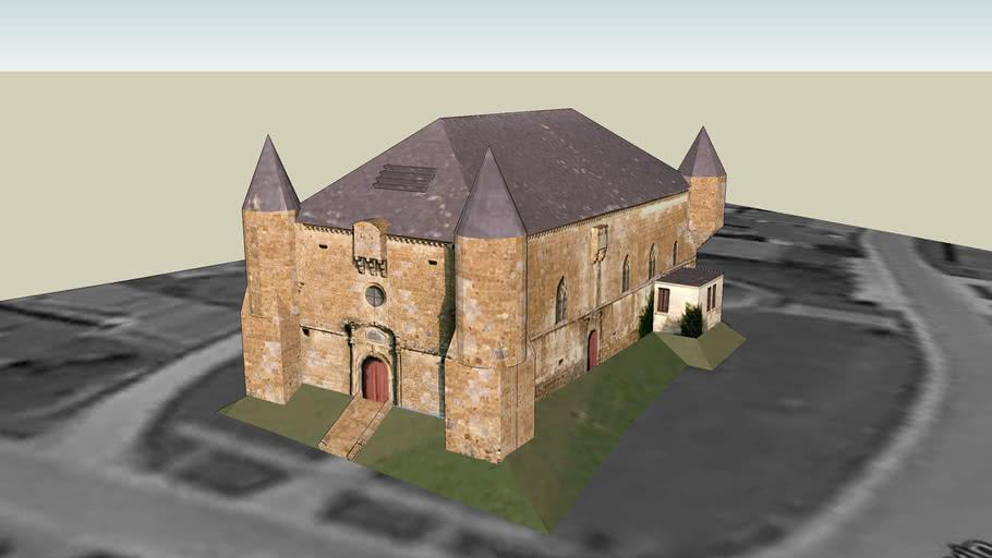 Eglise fortifiée de Saint Juvin, Saint Juvin (Ardennes), FRANCE