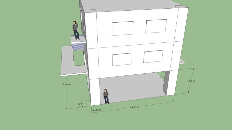 Residência 75m²