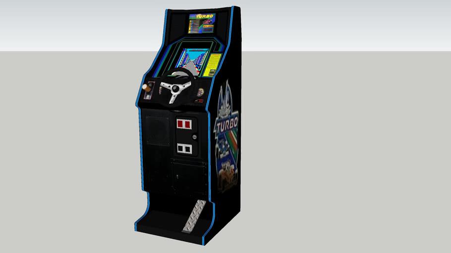 Turbo arcade game cabaret
