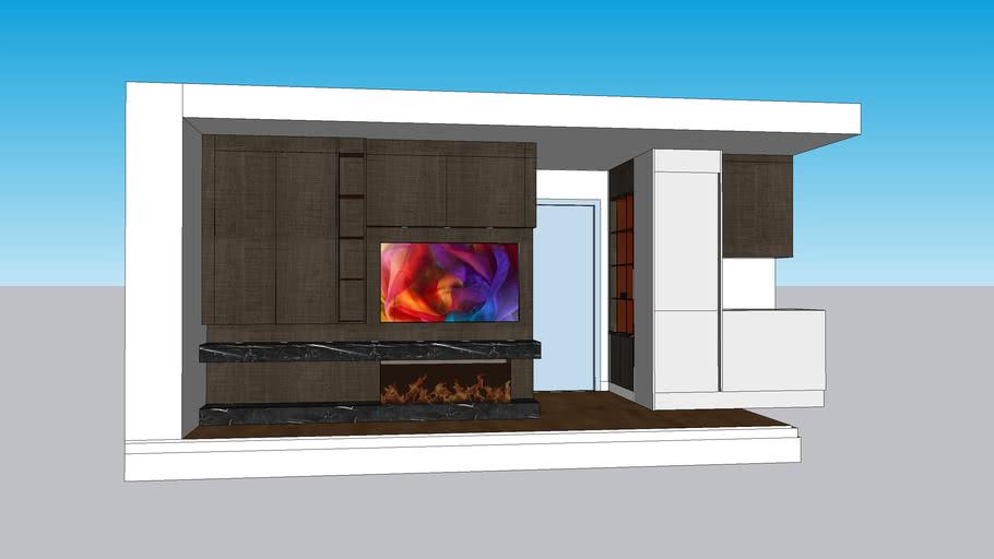 TV-FirePlace-Shelving