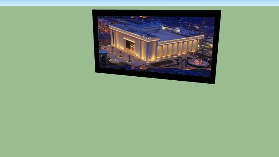 quadro do templo de salomão