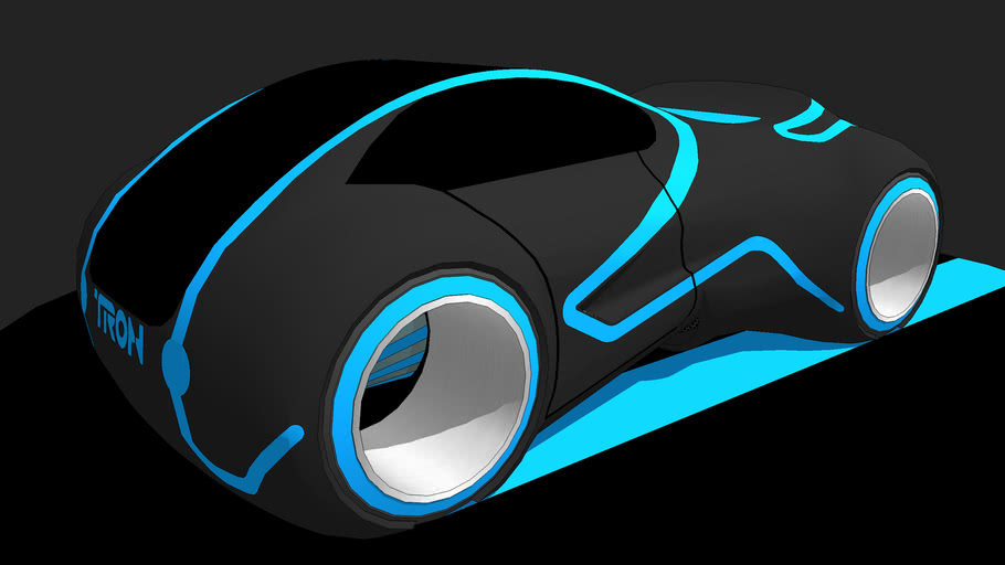 TRON inspired Car.