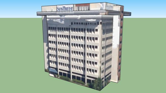 Suntrust Building in Sarasota, FL, USA