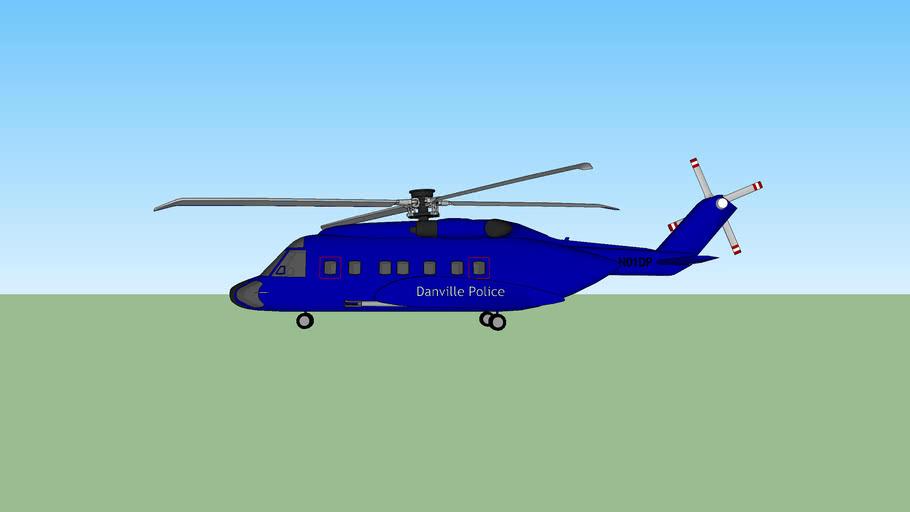 Danville Police Dept. chopper