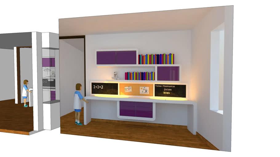 Cuarto Niña 365 Ltda   3D Warehouse