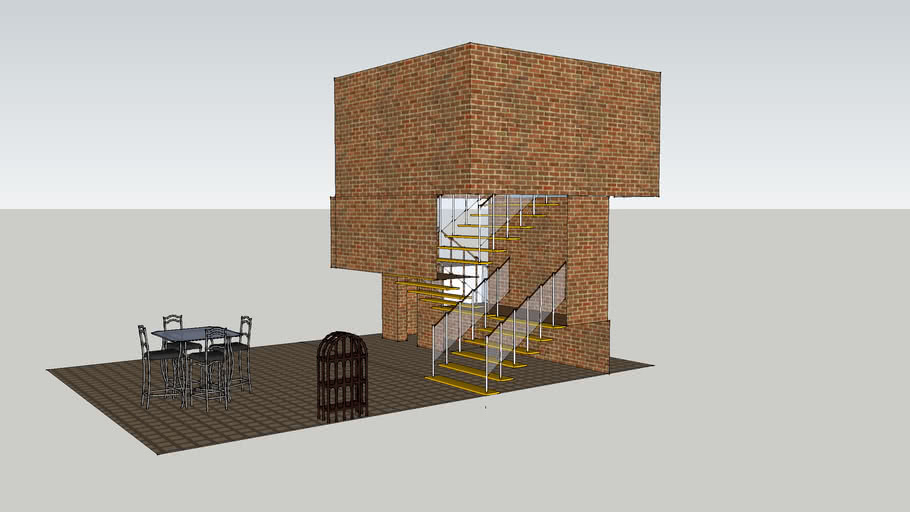 Nuclear Fallout Shelter (Incomplete)