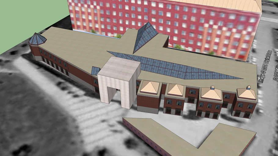 ELTE University Lágymányos (Southern building)