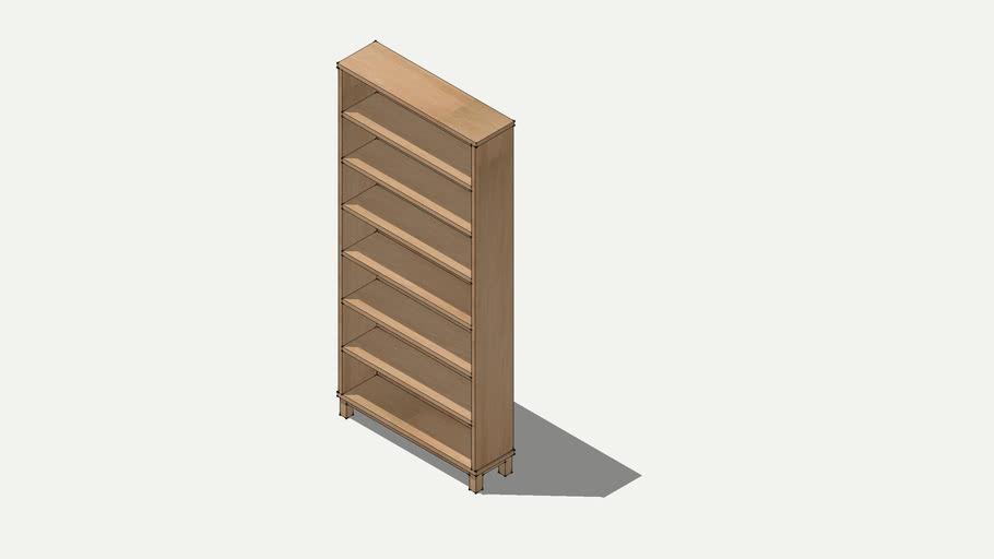 MUJI オーク材薄型ラック.ワイド大 oak slim rack wide large