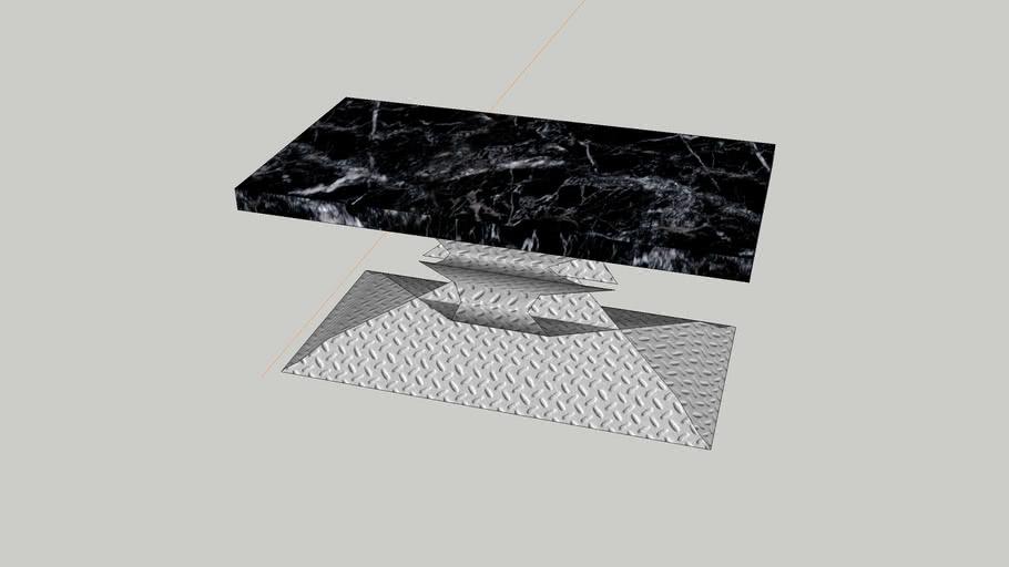 Bar | Barra | Metal Table | Mesa de Metal
