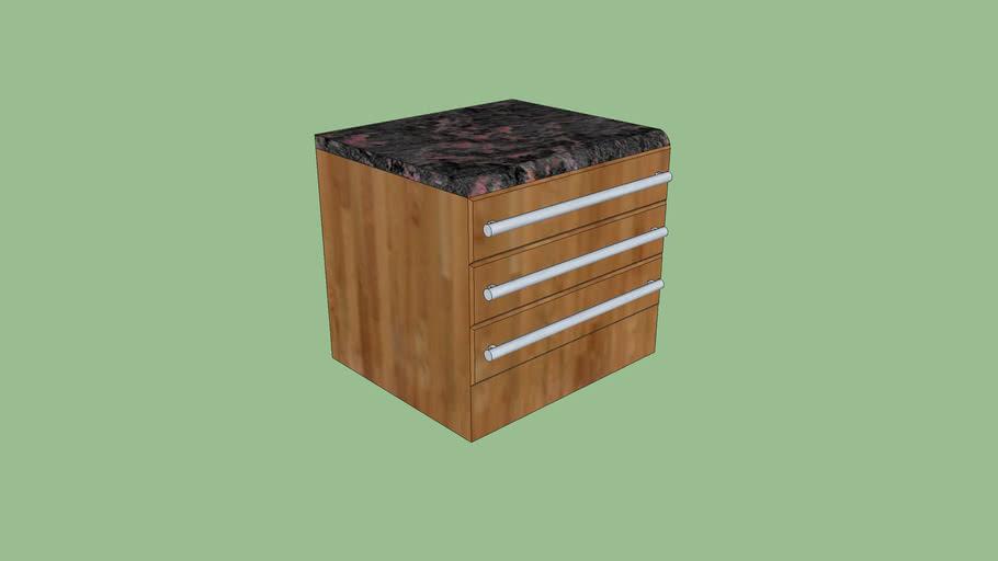 3 draw kitchen