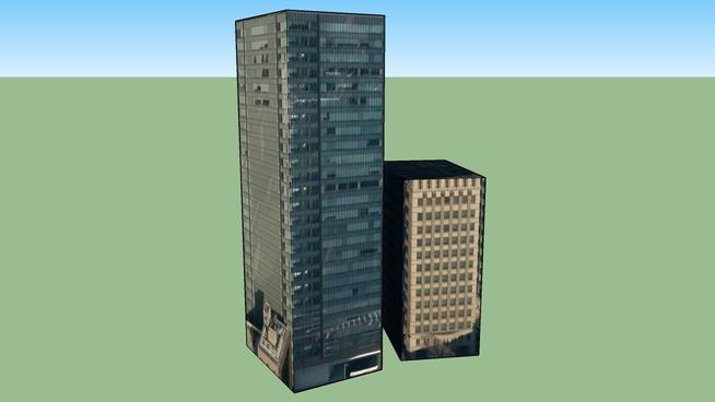 Building in 虎ノ門, Minato Ward, Tōkyō Metropolis, Japan