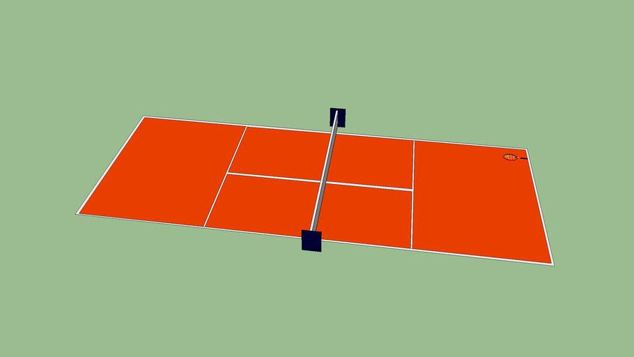 Clay Tennis Court