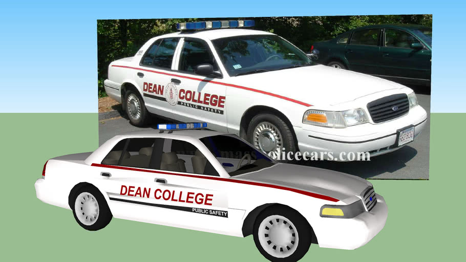 DEAN COLLEGE PUBLIC SAFETY patrol car