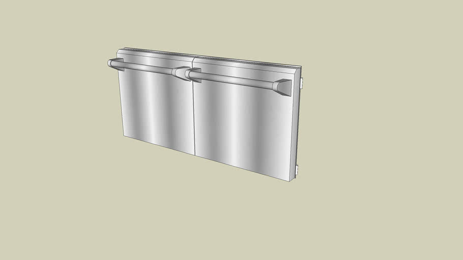 KBAU482TSS - Kitchenaid Outdoor 48 inch Access Doors