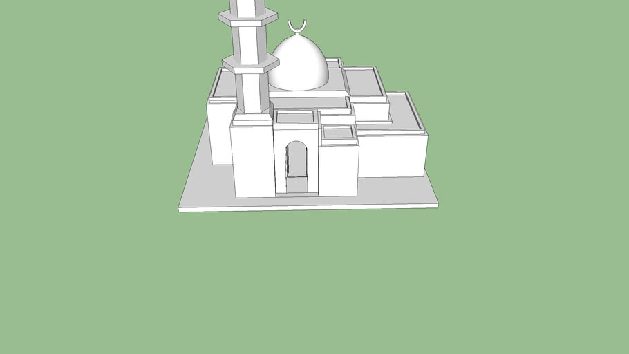 White Mosque ( Simple )