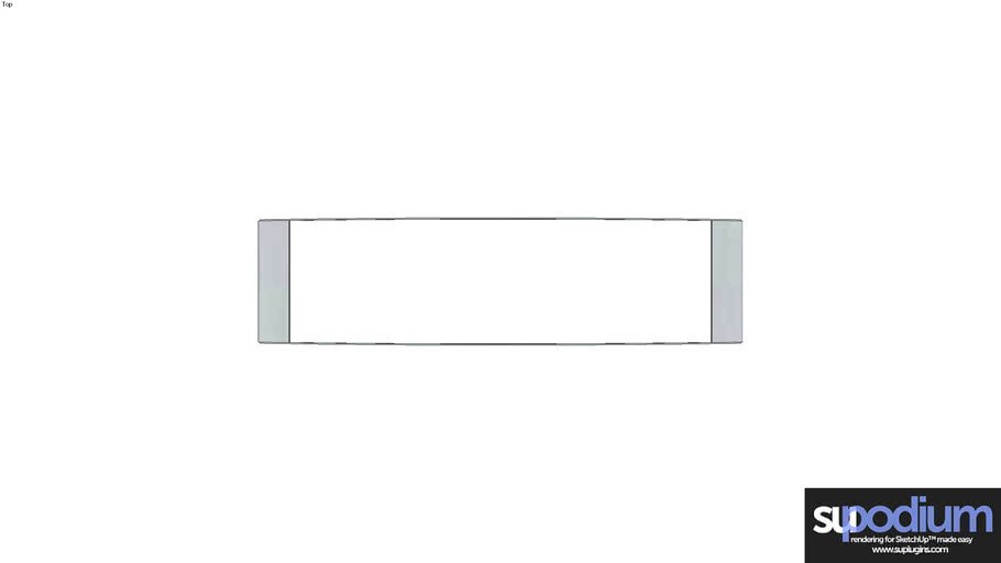 Podium Browser Luceplan Strip WA2 light fixture
