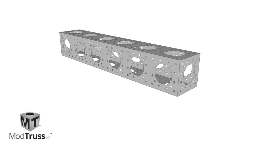 Aluminum Modular Truss 12 X 12 X 72 Modtruss