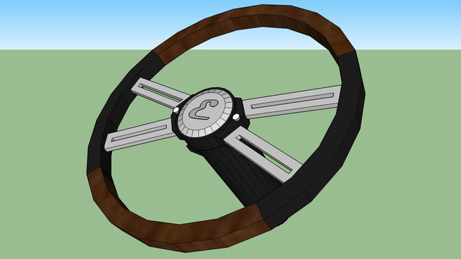 custom semi truck steering wheel