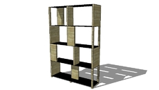 MOBILIER/BIBLIOTHEQUE