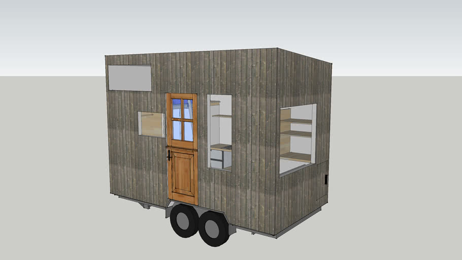 Weird Layout Tiny House