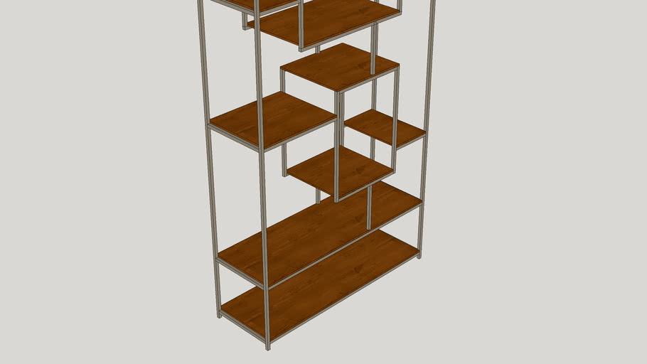"Alize 71"" Cube Unit Bookcase"